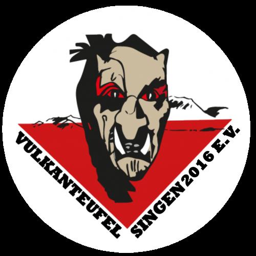 Vulkanteufel Singen 2016 e.V. Logo